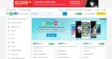 Индийский сайт онлайн-объявлений Quikr купил отремонтированный рынок товаров Zefo со штаб-квартирой в Бангалоре.