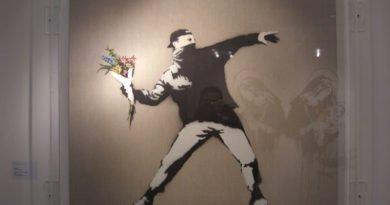 Британский художник Бэнкси объявил о продаже своих работ через интернет