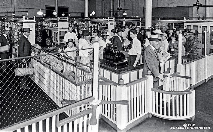 Первый супермаркет в Америке