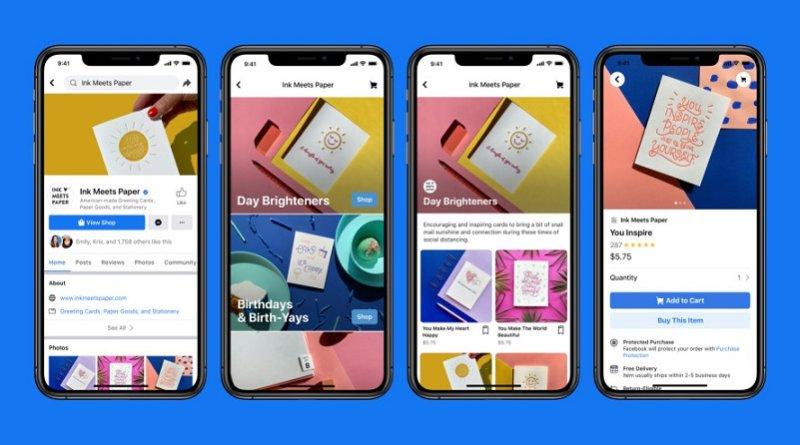 Facebook Shops - новая платформа для eCommerce внутри экосистемы Facebook
