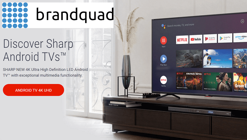 Sharp brandquad