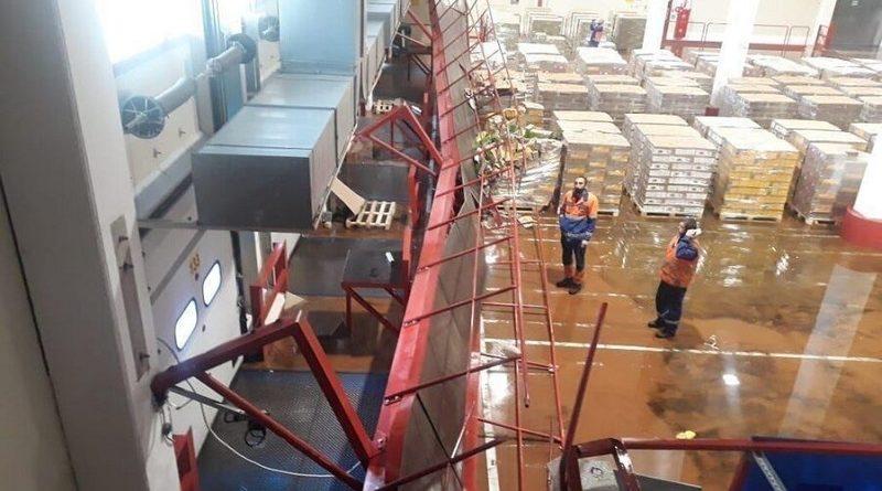 FM Logistic обрушение в Сидорово