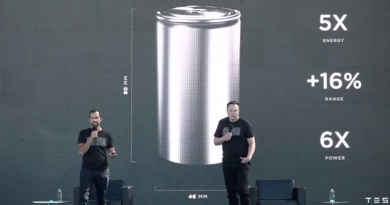 Musk Tesla batteries