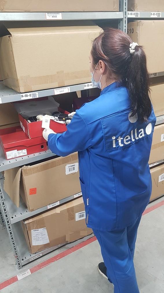 Маркировка Itella