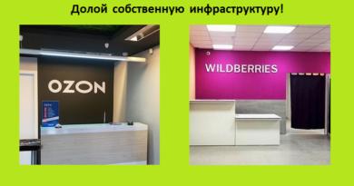 ПВЗ Ozon и Wildberries
