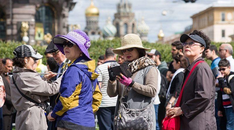 китайцы в россии туристы_