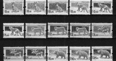 марки россии_чб_