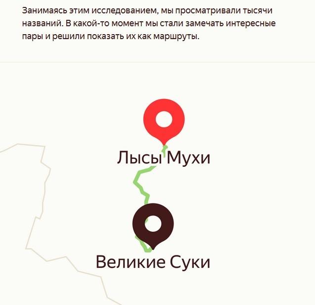 Яндекс названия населённых пунктов в России 3_