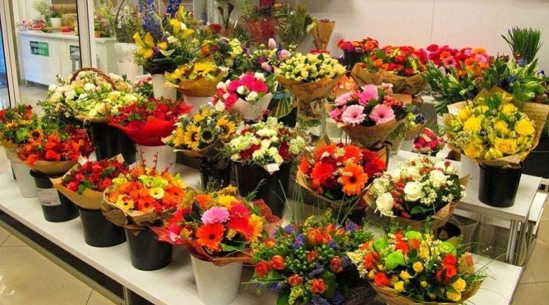 цветы магазин_