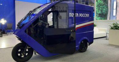 Почта России тук-тук_